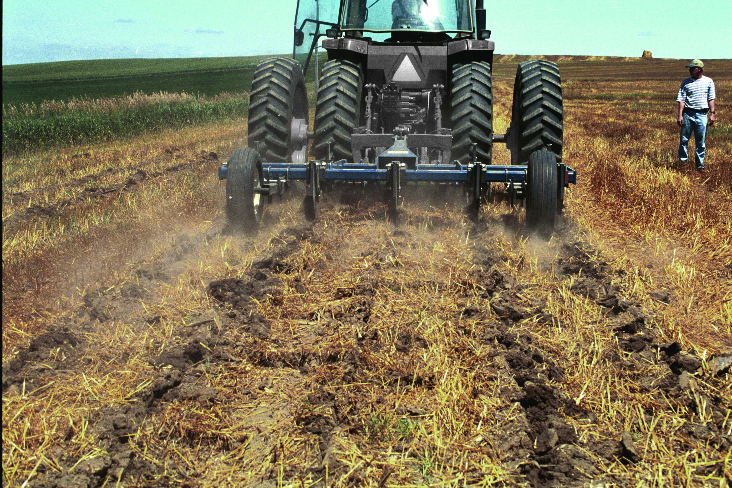 Выносливыми к нагрузкам агрегат для вертикальной обработки почвы